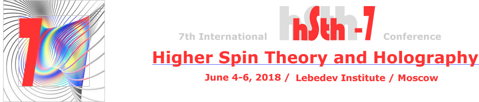 Higher Spin Theory and Holography, May-Jun, 2017, Lebedev Institute